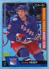 16/17 O-Pee-Chee Update Rookie Rainbow Foil Jimmy Vesey #684 Rangers