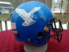"HANOVER HAWKEYES Jr High Football Helmet 12""Lx9""W ADAMS USA PRE OWNED"