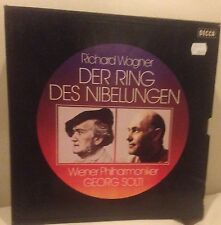 Wagner Ring Cycle/Solti - 19 LP DECCA BOX SET.  Wiener Philharmoniker/Solti