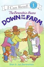 The Berenstain Bears Down on the Farm (I Can Read Level 1) by Jan Berenstain, St