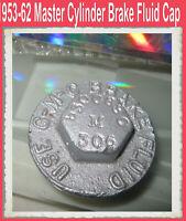 Corvette 1954 1956 1957 1958 1959 1960 1961 1962 Master Cylinder Cap READ