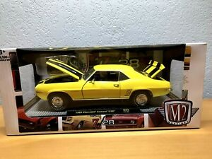 M 2 1969 Chevrolet Camaro Z 28 Non-Chase 1/24 Scale