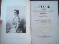 1860 RISORGIMENTO AMEDEE DE CESENA STORIA DELLA CAMPAGNA DEL 1859 CON UNIFORMI