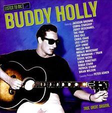 RINGO STARR Chris Isaak LYLE LOVETT Buddy Holly: Listen To Me CD Beatles