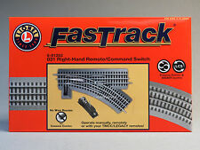 LIONEL FASTRACK 031 RIGHT HAND REMOTE SWITCH O GAUGE train turnout track 6-81253