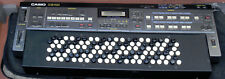 Casio CZ-101 Chromatic Button Synth- w/Gig bag/ RAM/ Manuals- MIDI Controller