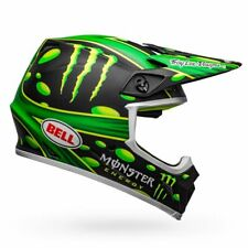 NEW Bell MX9 Mips Monster Energy Showtime Adult X-Large Helmet Troy Lee Designs
