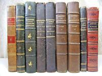 Bon lot de livres anciens littérature & histoire. Topffer-Louis XIV-Tastut