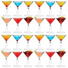 Plastic Cocktail Outdoor Martini Glass - 170ml (6oz) - Pack Of 24