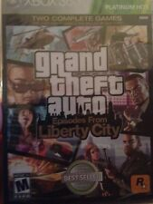 NEW! SEALED! XBOX 360 GAME - GRAND THEFT AUTO LIBERTY CITY - GTA - FREE SHIPPING