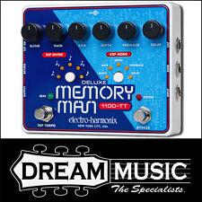 Electro Harmonix EHX Deluxe Memory Man 1100-TT Analog Delay FX Pedal RRP$999