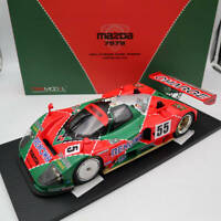 TSM 1/12 1991 MAZDA 787B #55 LE MANS 24Hrs WINNER LTD 999 TSM151201 Resin Model