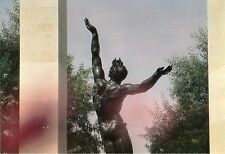 WW2 - CP - Statue au Cimetière  américain de Colleville - St Laurent-sur-Mer