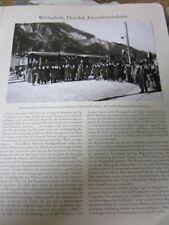 Vorarlberg Archiv 2205 Montafonbahn Eröffnungszug in St. Anton 1905