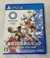Sony PS4 Olympic Games Tokyo 2020 THE OFFICIAL VIDEO GAME PlayStation 4 Japan