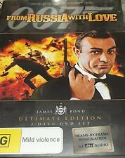 James Bond From Russia With Love Ultimate Edition 2-Disc Set Excellent Condition