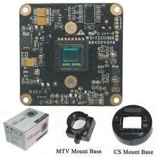 """Sunvision 650TVL 1/3"""" Sony CCTV Board Camera + CS & M12 Base Mounts (BS65A3)"""
