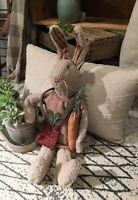Primitive CONSTANCE Rabbit Bunny Hare 22 inch Spring Easter Farmhouse