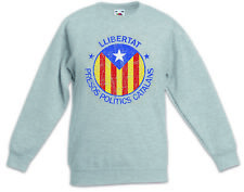 LLIBERTAT CATALONIA Kids Boys Girls Pullover Freedom for Free Independence