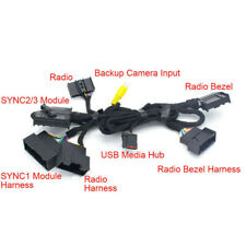"""For Ford SYNC 1 SYNC 2 to SYNC 3 Upgrade 4"""" TO 8"""" PNP Conversion Power Harness"""