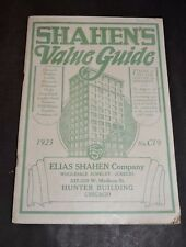 1925 ELIAS SHAHEN CATALOG WOMANS JEWELRY MESH BAGS FOUNTAIN PENS CAMERAS