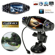 1080P HD Dual Lens Car DVR Dash Cam Video Camera Recorder G-sensor Night Vision