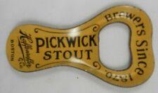 Vtg Beer Bottle Opener Pickwick Stout Ale Haffenreffer Boston Mass Ma Pre Pro
