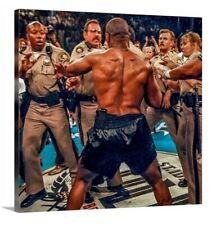 Mike Tyson Canvas 20x20 Print Picture Wall Fine Art Police Boxing Gym Ring Chano