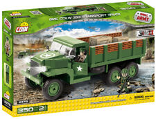 COBI Small Army WWII 'US GMC CCKW 353 Transport Truck' 350 Pieces Item #2378