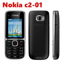 Nokia C2 C2-01 Black GSM Mobile Phone Hebrew Keyboard Original Unlocked