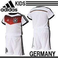Adidas GERMANY Home MINI KIT Infant Baby Climacool 4S SET T shirt +Shorts Boys