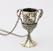 Collar con colgante de Copa de Helga Hufflepuff de Harry Potter