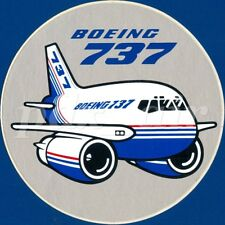 BOEING 737 CLASSIC SHORT TO MEDIUM RANGE TWINJET NARROW-BODY STICKER