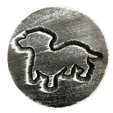 Dachshund dog mold garden ornament casting plaque mould