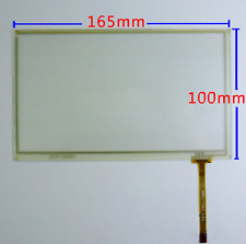 """7"""" inch 165X100mm Resistive Touch Screen Glass Panel Digitizer for AT070TN92 F8"""