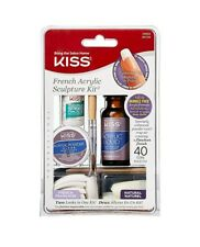 Kiss French Acrylic Sculpture Kit Professional Manicure Set