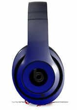 Skin for Beats Studio 2 3 Smooth Fades Blue Black HEADPHONES NOT INCLUDED