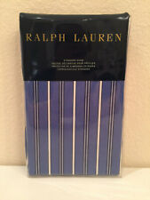 Ralph Lauren Off Sunset Standard Pillow Sham Cambridge Stripe Blue