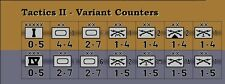 Imbalanced Variant Counters for Avalon Hill's Tactics II – Die-Cut