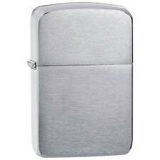 Zippo 1941, 1941 Replica, Brushed Chrome Lighter, **6 Flints & Wick**