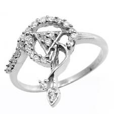Lovely Brand New Ring With 1.25ctw Cubic zirconia in 925 Sterling silver