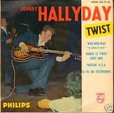 "JOHNNY HALLYDAY - Wap-Dou-Wap (1962 VINYL EP 7"" FRANCE)"