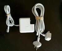 Genuine 45W Magsafe1 Original Charger for Apple MacBook Air + Cord Extension