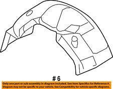 FORD OEM 08-10 F-350 Super Duty Fender-Liner Inner Panel Cover Right 8C3Z16071A