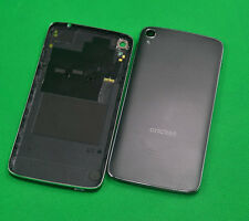 "Black Battery Back Cover Rear Shell For Alcatel One Touch Idol 3 5.5"" OT-6045O"