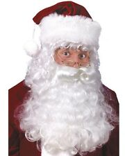 Santa Beard And Wig Set One Size