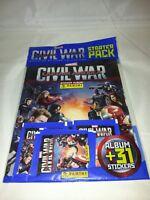 Captain America Panini Sticker album pack : Mint Condition Unopened.