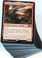 ***Custom Commander Deck*** Drakuseth - Red Dragon Tribal - EDH MTG Magic Cards