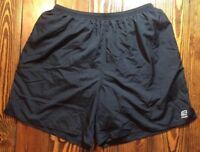 "Men's Road Runner Sports Black Running Shorts Underwear Lined XXL Stretched 48"""