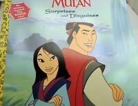Disney MULAN Surprises and Disguises by Walt Disney Productions Staff PAPER DOLL